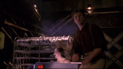 Summer Glau and Nathan Fillion in Firefly 1x01 Serenity