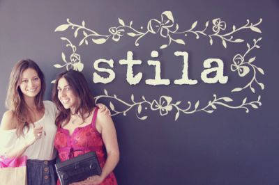 Summer Glau at Stila Cosmetics