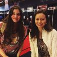 Summer Glau poses with fan at FACTS