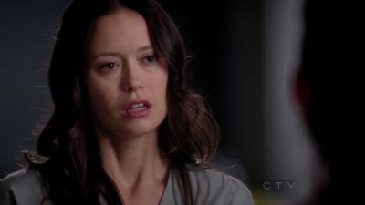 Summer Glau as nurse Emily Kovach in Grey's Anatomy.
