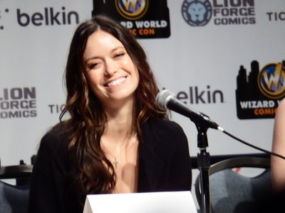 Summer Glau at Wizarld World
