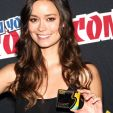 Summer Glau at New York Comic-Con
