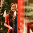 Summer Glau as an elf in an Hallmark Christmas movie