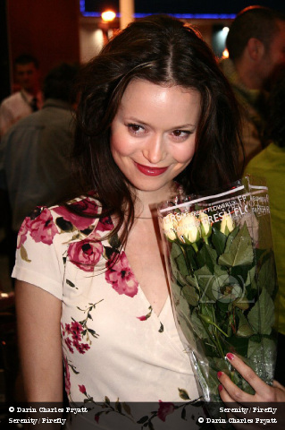 Summer Glau at the Serenity premiere at the Edinburgh IFF on August 22, 2005