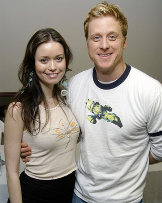 Summer Glau and Alan Tudyk at FX Show2006