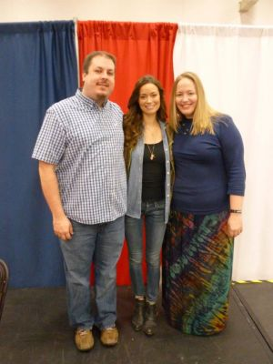With Summer Glau at Dallas Comic Con! Goooo River!