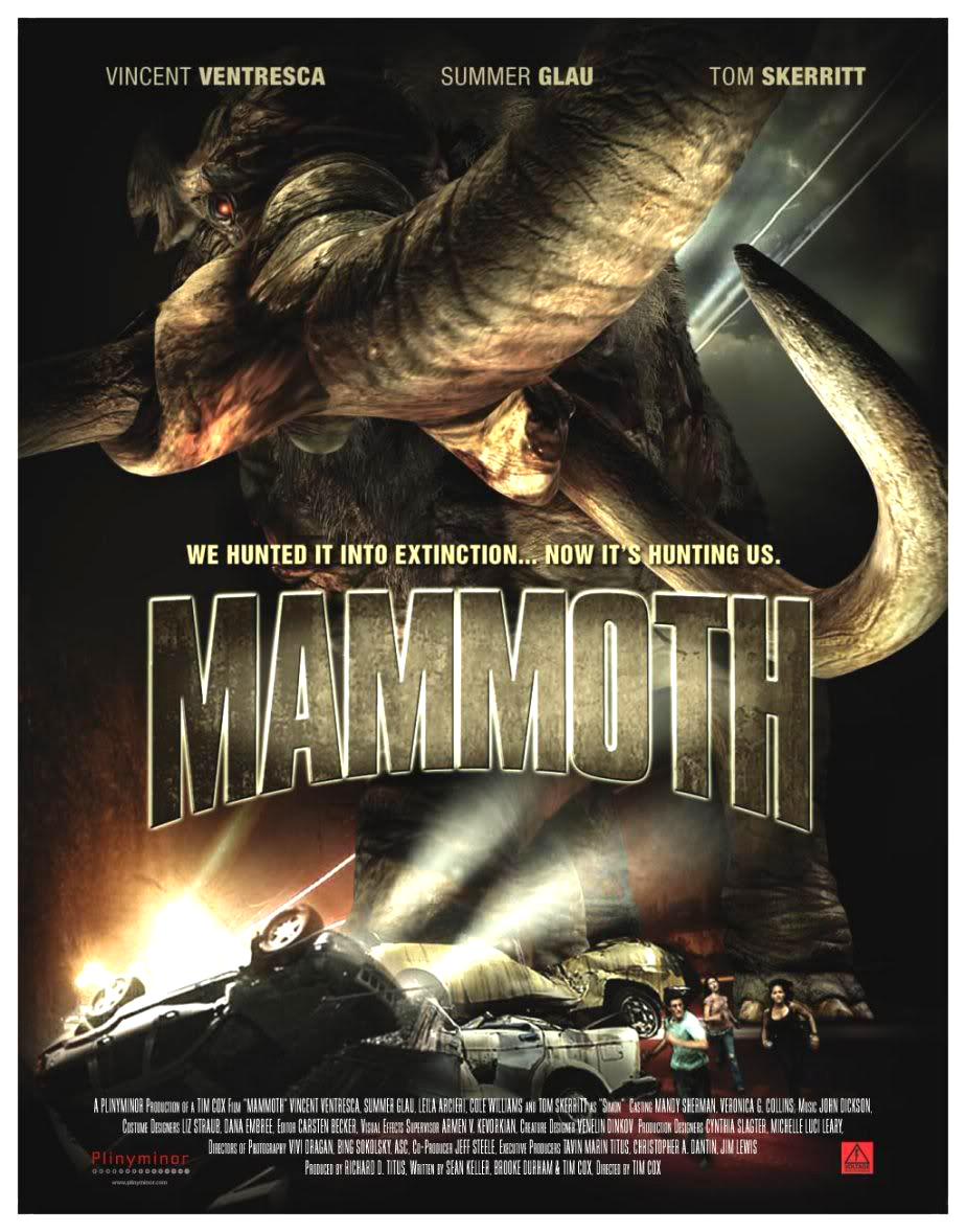 If you're a fan of 1950's monster movie, schlock horror, or Summer Glau, Mammoth is for you.