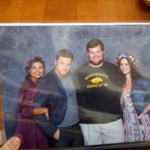 Firefly group photo at Chicago Comic Con