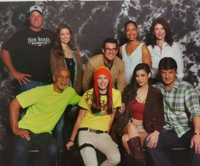 Firefly cast at Dallas Comic Con