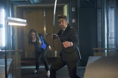 Deathstroke comes to Starling City and Isabel Rochev finally strikes in Arrow 2.18 'Deathstroke'