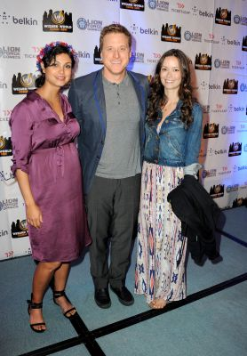 Morena Baccarin, Alan Tudyk and Summer Glau at Wizard World Chicago Comic Con 2013