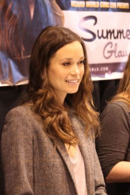 Summer Glau at St.Louis Comic Con, April 5 - 6, 2014