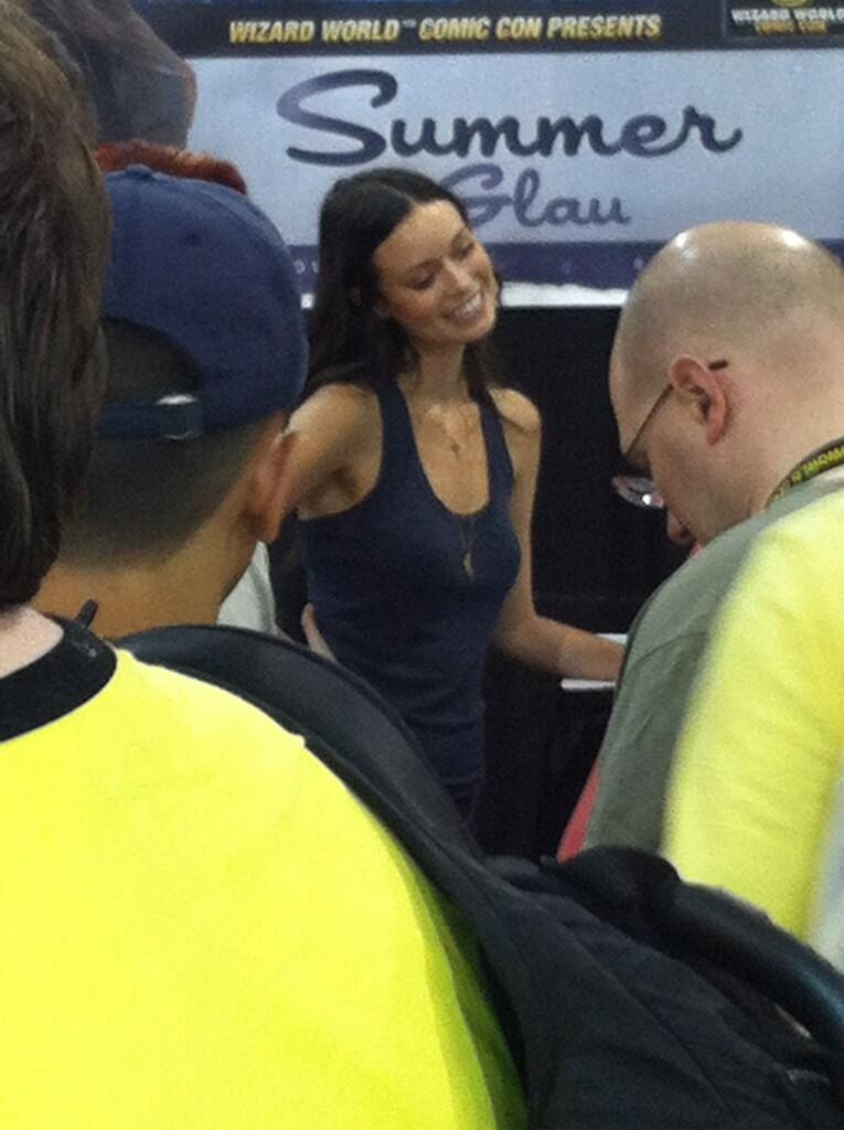 Summer Glau at Wizard World Philadelphia Comic Con, June 1-2, 2013
