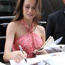 Summer Glau greets her fans and signs autographs at Comic-Con International San Diego