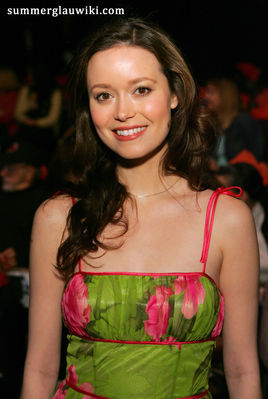 Summer Glau at the Mercedes Benz Fall 2006 LA Fashion Week