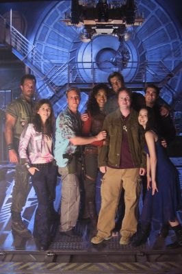 Joss Whedon and the cast of Serenity