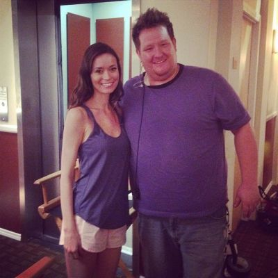 Summer Glau on set of Crackle's thriller 'Sequestered'
