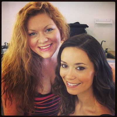 Summer With Her Makeup Artist On Set of Sequestred