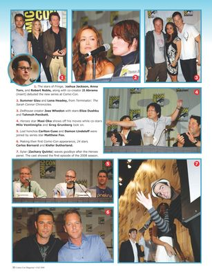 Comic Con Magazine - Fall 2008