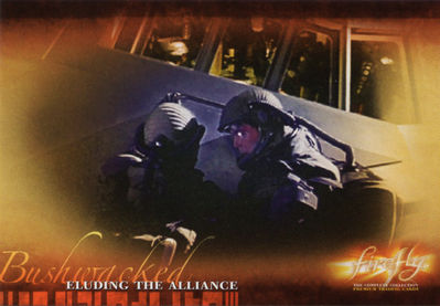 Firefly Trading Cards: Eluding the Alliance
