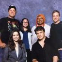 Firefly group photo with Summer Glau, Adam Baldwin, Nathan Fillion and Alan Tudyk at St.Louis Comic Con