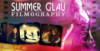 Summer Glau Filmography