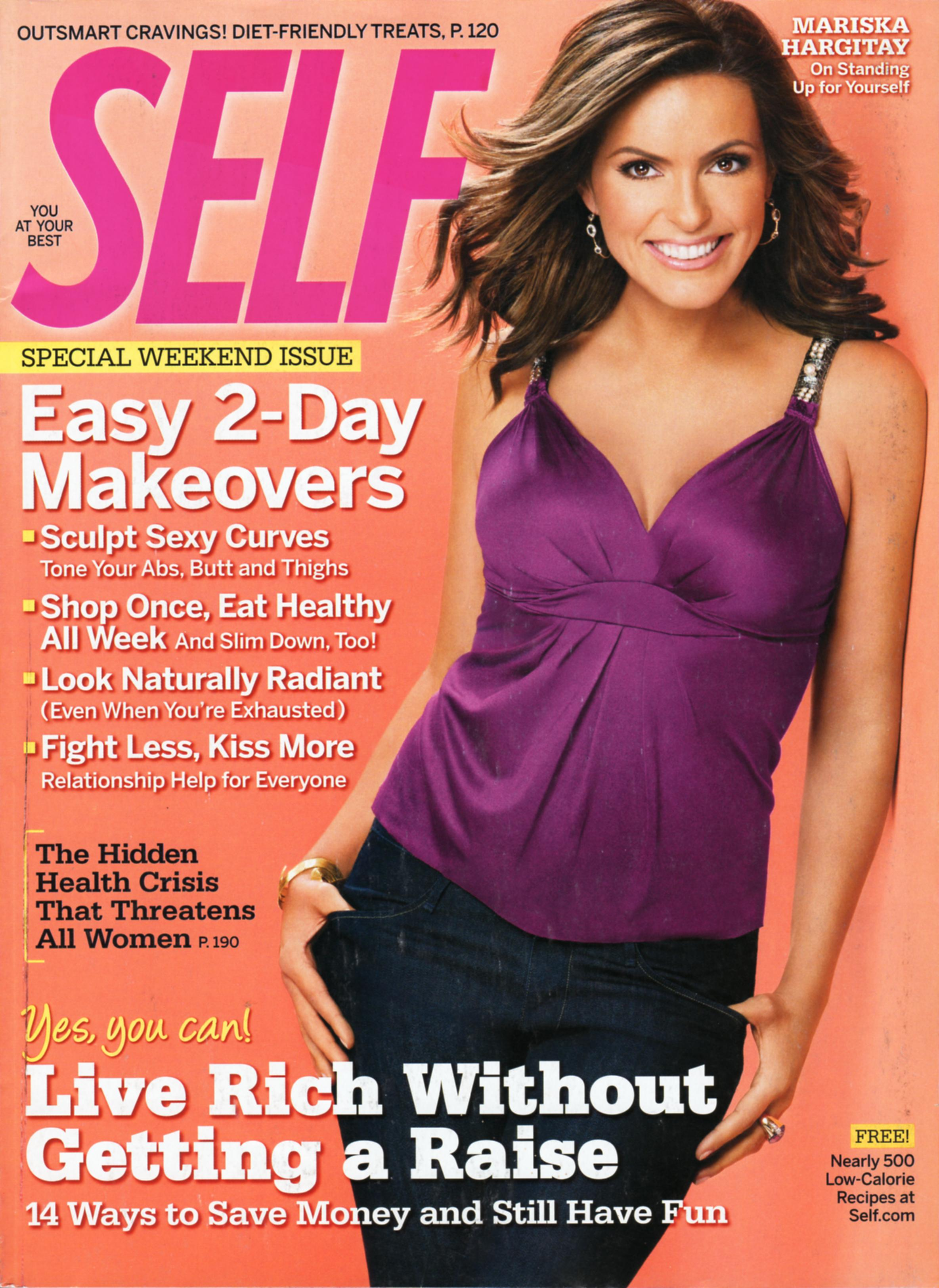 mariska hargitay law amp order special victims unit is on the cover