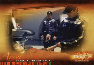 Firefly Trading Cards: Bringing River back