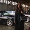 Summer Glau in Bobby-B coat by Judith & Charles in Arrow 2x06 ' Keep Your Enemies Closer' HD Captures