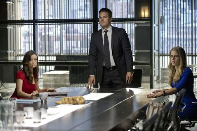First look at Summer Glau in Arrow