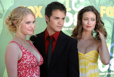 Leven Rambin, Thomas Dekker, and Summer Glau at the 2008 Teen Choice Awards