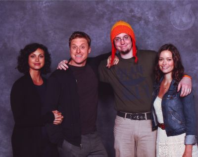 Morena Baccarin, Alan Tudyk and Summer Glau at Chicago Comic Con, August 10 - 11, 2013