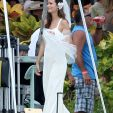 Summer Glau in a Wedding Dress