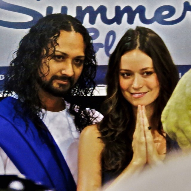 Behind the scenes look at Summer Glau and @CosplayJesus at Wizard World Philadelphia Comic Con, June 1-2, 2013