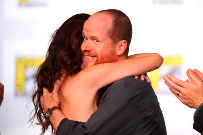 Summer Glau and Joss Whedon at Comic Con 2012