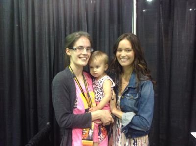 Meeting Summer Glau at Chicago Comic Con