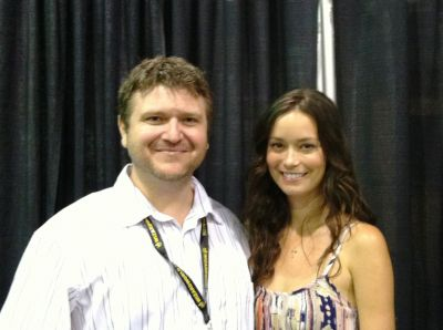 Summer Glau at Chicago Comic Con, August 10 - 11, 2013