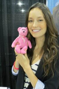 Summer Glau Tops Project Teddy Bear Auction