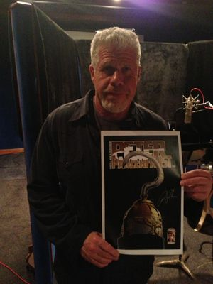 Ron Perlman in Peter Panzerfaust