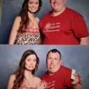 Summer Glau making a funny face at London Film and Comic Con, July 11 - 13, 2014