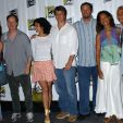Sean Maher, Summer Glau, Jewel Staite, Morena Baccarin, Joss Whedon, Adam Baldwin, Gina Torres and Ron Glass at Comic Con International