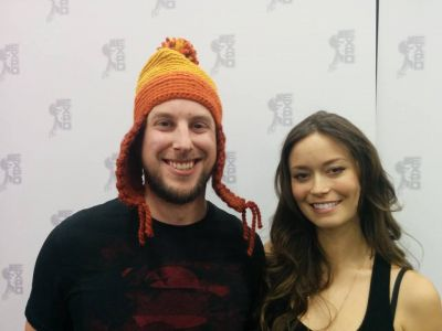 Summer Glau at Edmonton Comic & Entertainment Expo, September 27 - 28, 2014
