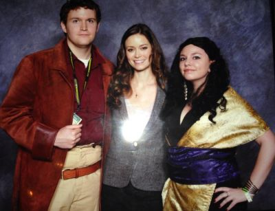 Summer Glau at Wizard World St. Louis