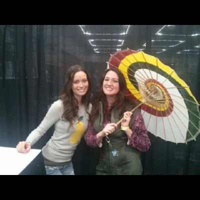Summer Glau at Wizard World Portland Comic Con, January 24 - 25, 2014