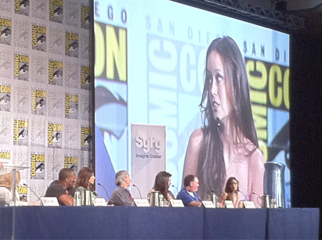 Alphas Panel at Comic-Con International San Diego