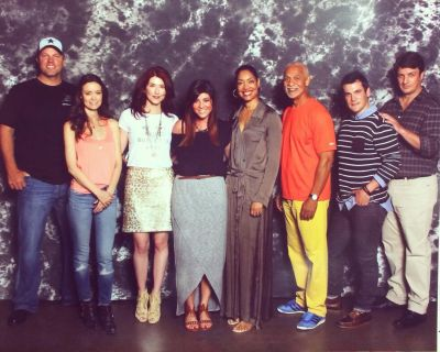 Firefly cast group photo at Dallas Comic Con, May 16 - 18, 2014