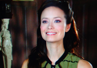 Summer Glau in Hallmark Channel Help for the Holidays