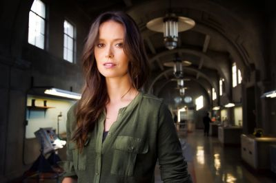 Summer Glau in Alternative Reality Game The Human Preservation Project