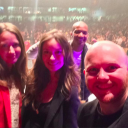 Amy Acker, Summer Glau, J. Auguste Richards and Whedonverse panel host Mike Morrison at Edmonton Expo