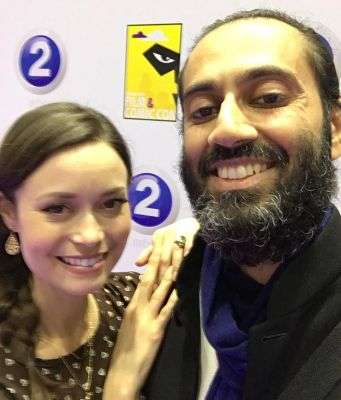 Thrilled to meet the talented and enchanting Summer Glau at MEFCC
